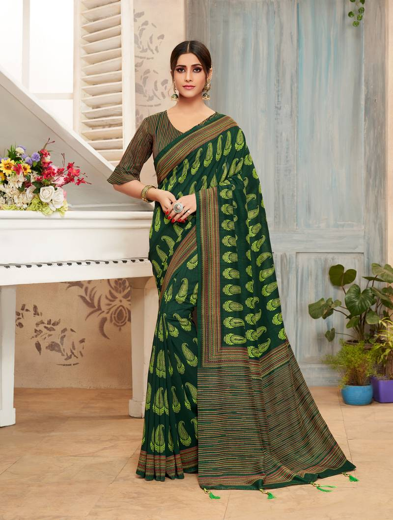 Chanderi Silk Saree Online Shopping